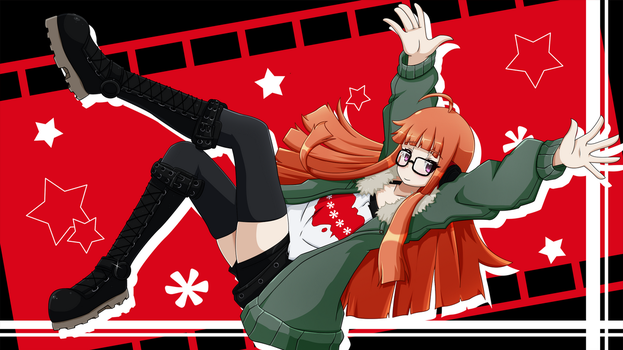 Persona 5 - Futaba Sakura by Damaged927