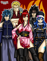 Fairy Tail Final Team by Ishthak
