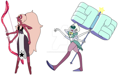 Opal and Sardonyx Color Swap by CrystalQuartz731