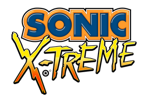 Sonic X-treme Logo Remade by NuryRush