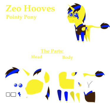 Zeo Hooves Pointy Pony [Commission] by Zacatron94