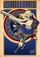 [Commission] Noel Vermillion by Naitsabes89