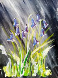 Stormy Bluebells by KateHodges