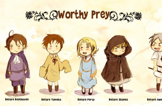 Worthy Prey-The Series by dieingcity