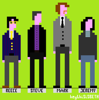 The League of Pixel Gentlemen by heythisisBETH