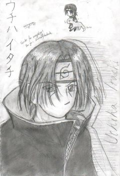 Itachi- for Essence to molest by reimyourou