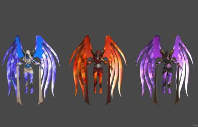'Heroes of the Storm' Auriel Spirit Healer XPS!!! by lezisell