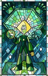 Stained Glass Peridot by Bakenius