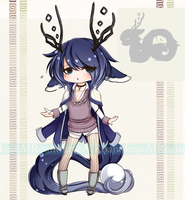 [CLOSED] Tea Dragon Babe Auction by AJRoanoke