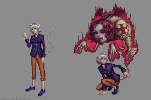 Neferpitou Redesign: Hunter X Hunter by TheObliviousOwl