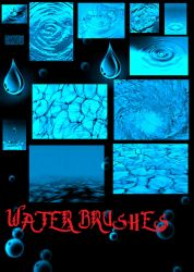 Water Brushes PS7 by ShinigamiNoAkui