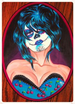 2013 Self Day Of Dead by AngiePip
