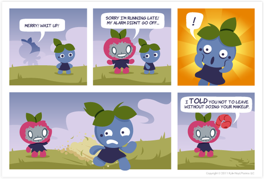 Appley Rotten Comic by appleyrotten