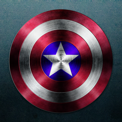 Realistic Captain America Shield by Cameronwink