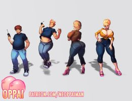 Milfy Bimbo Sequence by Oppaiman
