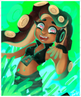 Splatoon 2 - Marina by Peach-n-Key