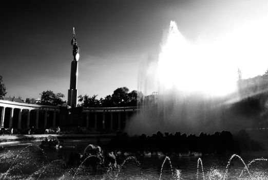 Monument of the Russian army by venigesheva