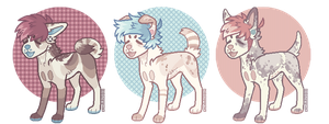 smoll pupper batch auction (closed) by vvolfbites