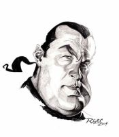Steven Seagal by ImRoGeR