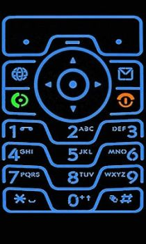 Latest Samsung behold keypad by steelew