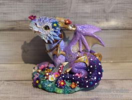 Fae Dragon by NocturnalCreations-x