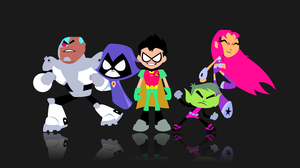 Teen Titans Go Wallpaper by SymphonicFire