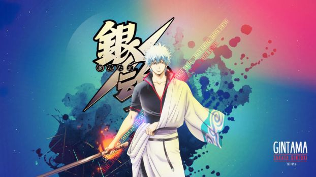 Gintama - Gintoki Wallpaper by Seiikya