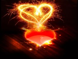 Sparkly Heart by MindStep