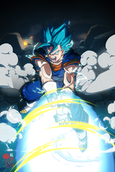Vegito / Vegetto FINAL KAMEHAMEHA by limandao
