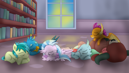 Tired students by Vicakukac200