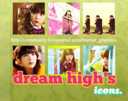 Dream High's icons. by Marnie95