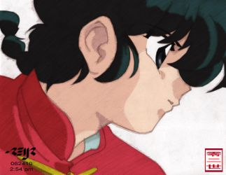 ranma saotome colored by reijr
