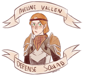 Aveline Vallen Defense Squad by 1000butts