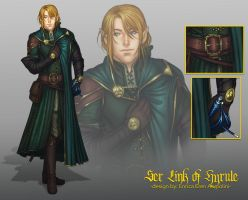 Ser Link of Hyrule + PROCESS VIDEO by Eeren