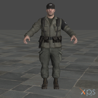 CoD Black Ops Military Police 1 for XPS by SaltPowered