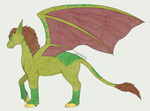 Small equus demon by fableworld