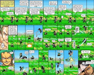 One Piece, Naruto 06 by Abraal