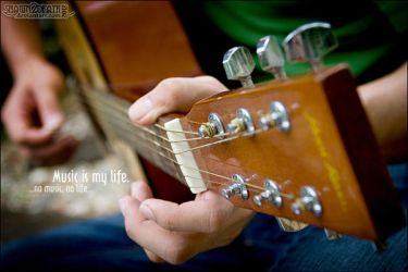 Music is My Life by shawn2death
