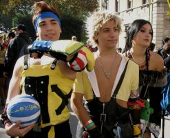 Tidus, Lulu and Wakka by Sommum