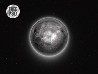 One Circle Layer Style - Moon by KoolGfx