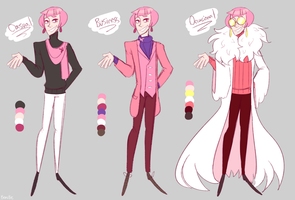 Valery Concept Sketches by Beartie