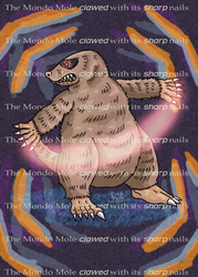 The Mondo Mole from EarthBound by Erikku8