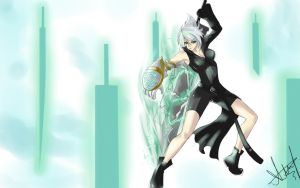 League of Fantasy feat. Riven the EX-Soldier by blackroseKJL