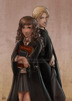 HP -Draco and Hermione- by Bea-Gonzalez