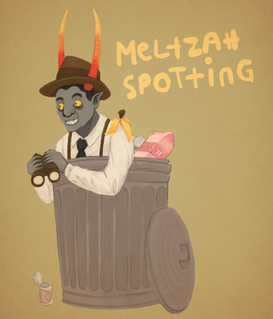 MELTZAH SPOTTING by Elliekin