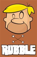 Heads Up Barney Rubble by HeadsUpStudios