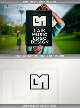 LaikMusic LOGO design by baldnerd