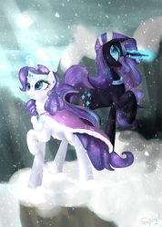 Snow, Crystals, Lights and Shadows by AlicjaSpring