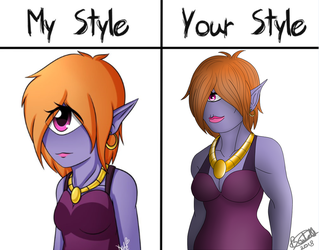 Your Style My Style Challenge Sclera by Brutalwyrm