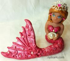 Pretty in Pink Mermaid by MarilynMorrison